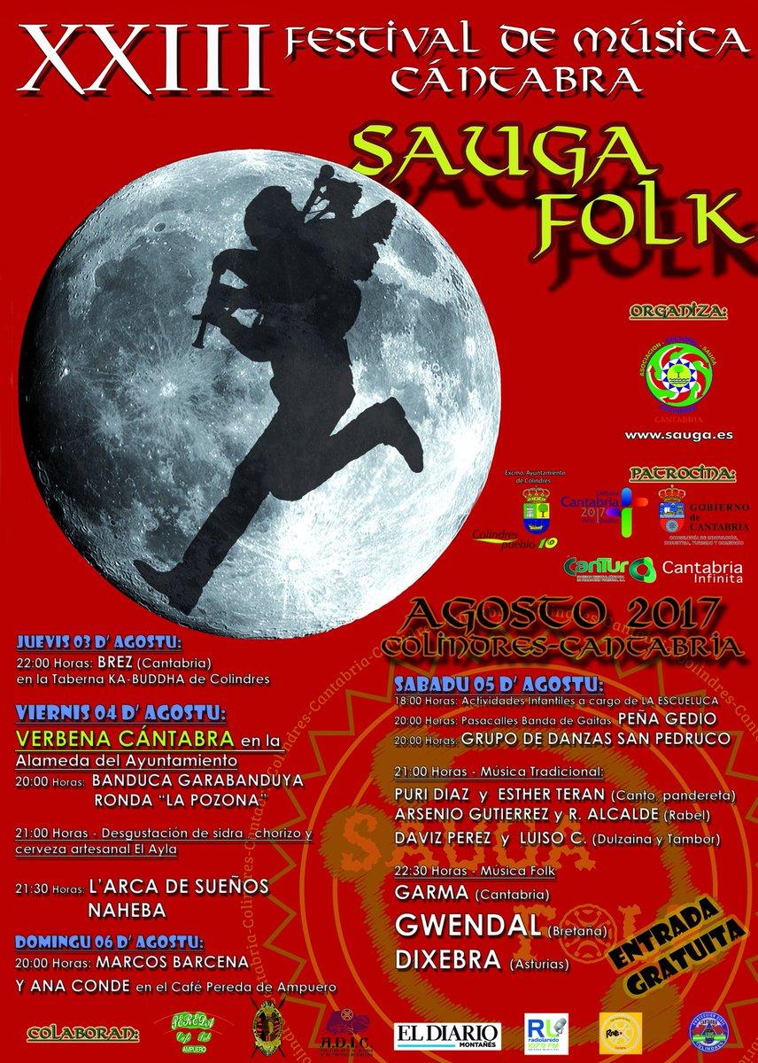 Turismo Cantabria - Turismo Cultural - Año Jubilar Lebaniego - Concierto - gratuito- festival- música folk- sauga folk- Colindres