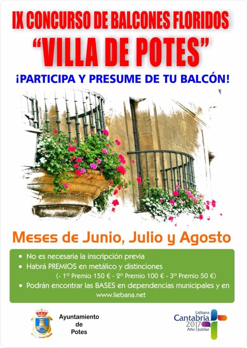 Turismo Cantabria - Turismo Cultural - Año Jubilar Lebaniego- Potes- Liébana- Balcones- Flores- Vistas- Destino Liébana- Camino Lebaniego