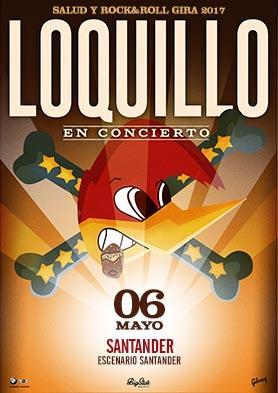 Loquillo en concierto en Santander