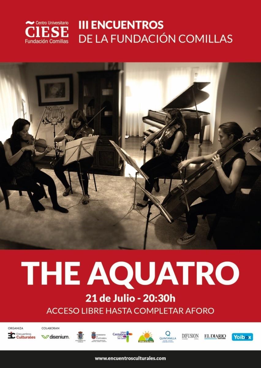 Turismo Cantabria - Turismo Cultural - Año Jubilar Lebaniego - Concierto - música clasica- The Aquatro String Quartet en concierto