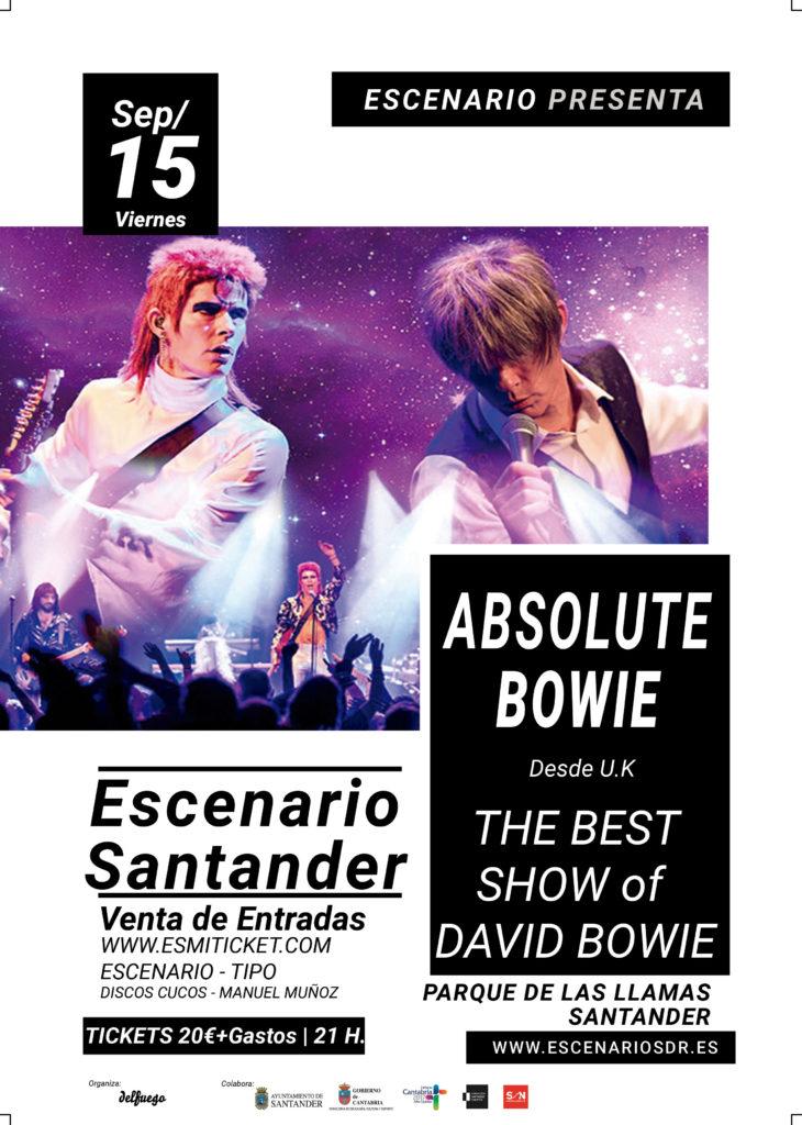 Turismo Cantabria - Año Jubilar Lebaniego - conciertos- Escenario Santander- septiembre- tributo a Bowie