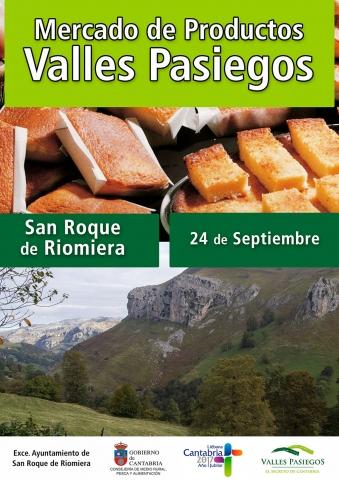 Turismo Cantabria - Año Jubilar Lebaniego - Valles Pasiegos- Mercado de productos cántabros- San Roque de Riomiera- septiembre- productos artesanales