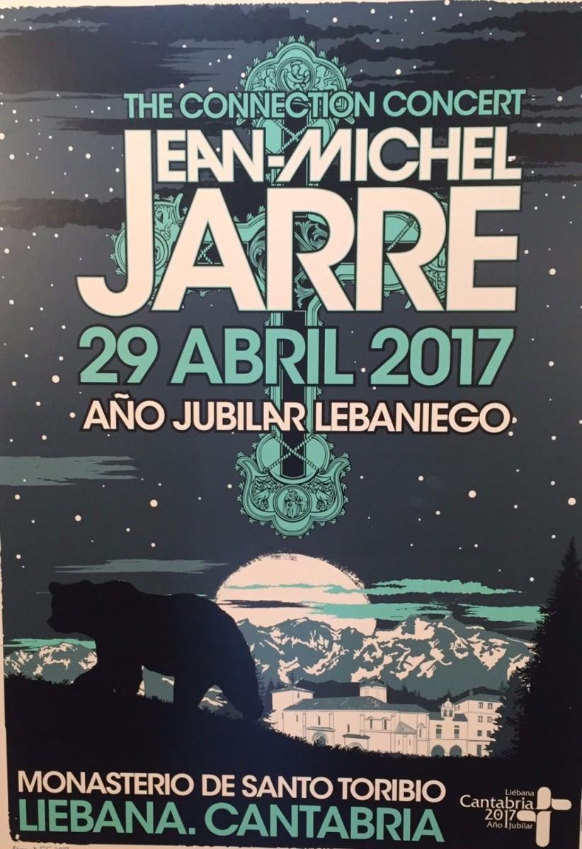 turismo cantabria - actividades culturales - camino lebaniego - concierto - jean michel jarre - monasterio de santo toribio - año jubilar lebaniego 2017