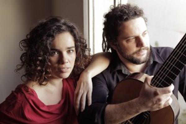 Irene Atienza y Doublas Lora en el Palacio de Festivales de Cantabria