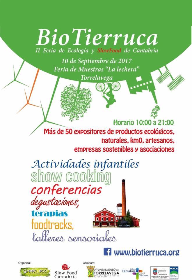 Turismo Cantabria - Año Jubilar Lebaniego - Biotierruca- alimentos ecológicos- show cooking-artesanos- septiembre- Torrelavega- La Lechera- actividades infantiles