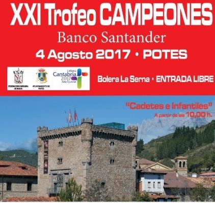Turismo Cantabria - deporte- bolos- Año Jubilar Lebaniego- Potes- agosto- verano- cadetes- infantiles- entrada libre