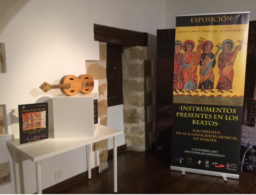 Turismo Cantabria - Turismo Cultural - Año Jubilar Lebaniego - Exposición- Instrumentos musicales- Beato de Liébana- Santillana del Mar- reproducciones