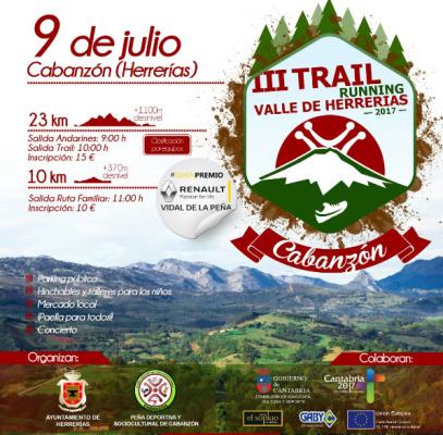 Turismo Cantabria - deporte- trail- running - actividades verano- con niños- en familia- Cabanzón- Herrerias-  III TRAIL RUNNING VALLE DE HERRERIAS
