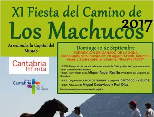 Turismo Cantabria - Año Jubilar Lebaniego - Fiesta del Camino de Los Machucos 2017- exposición de ganado- comida popular- asado de ternera- septiembre- XI Fiesta del Camino de Los Machucos