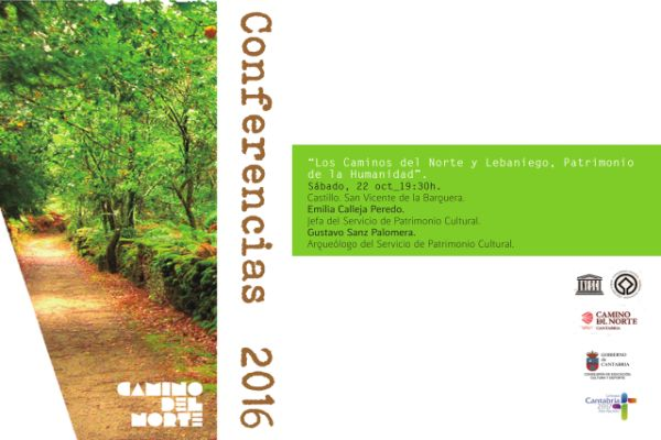 """Conferencia """"Camino del Norte y Camino Lebaniego. Patrimonio de La Humanidad"""""""