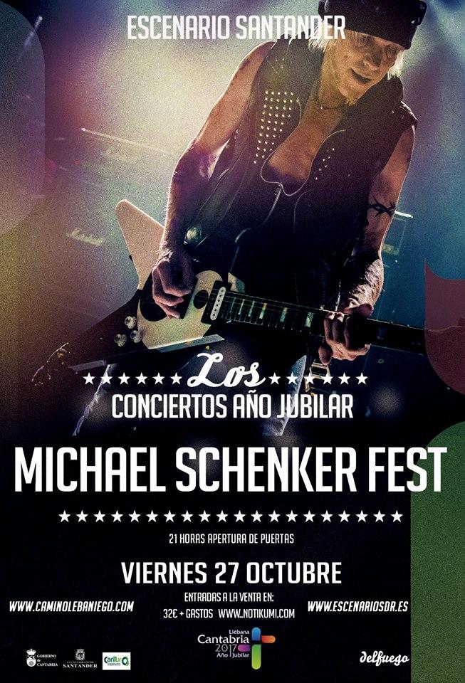 Turismo Cantabria - Año Jubilar Lebaniego - Michael Schenker Fest- concierto