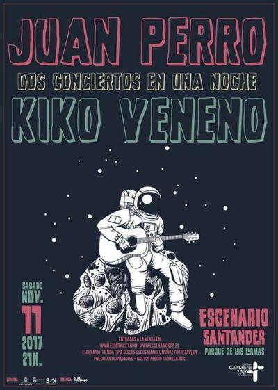 Turismo Cantabria - Turismo Religioso - Año Jubilar Lebaniego -concierto-de-kiko-veneno-juan-perro-en-santander