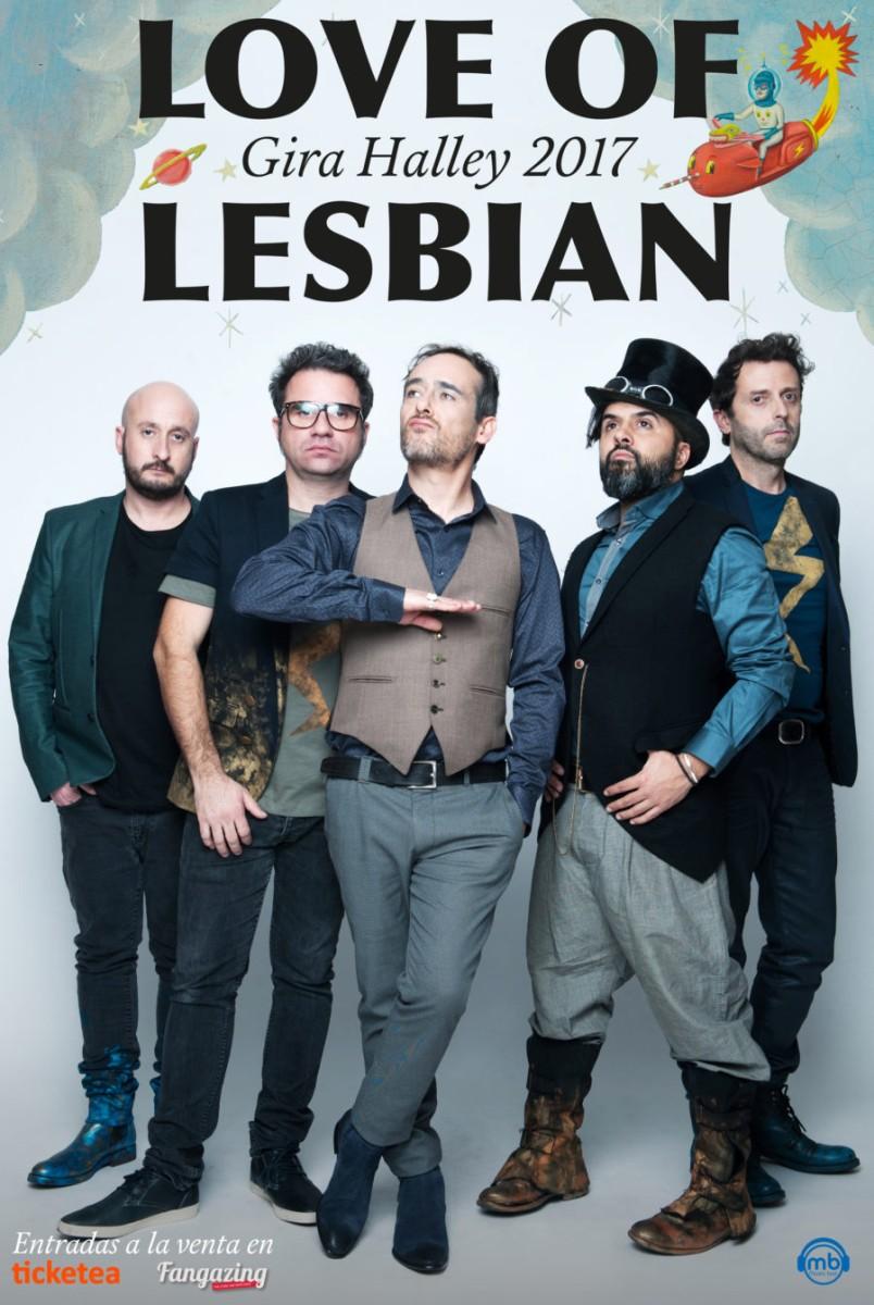 Love of lesbian en concierto en Santander