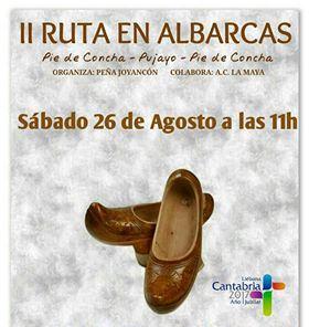 Turismo Cantabria - Turismo Cultural - Año Jubilar Lebaniego - albarcas- tradiciones cántabras- verano- marchas- rutas- Pie de Concha-