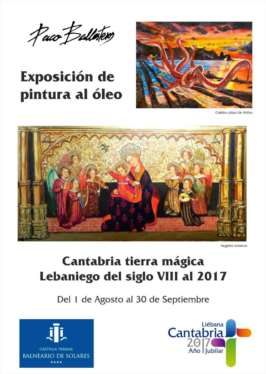 Turismo Cantabria - Turismo Cultural - Año Jubilar Lebaniego - exposición- paco ballesteros