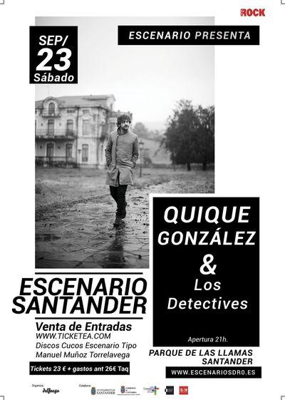 Turismo Cantabria - Año Jubilar Lebaniego - Escenario Santander- Quique Gonzalez- septiembre