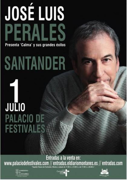 Turismo Cantabria - Turismo Cultural - Año Jubilar Lebaniego - Concierto - palacio de festivales - jose luis perales - verano- conciertos